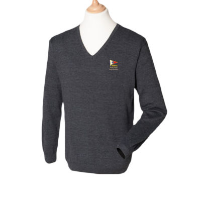 WMYC Men's V Neck Knitted Sweater (H720) Thumbnail