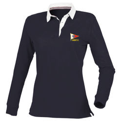 WMYC Women's Soft Slim Fit Rugby Shirt (FR105)  Thumbnail